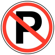 Prohibitory sticker
