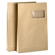 Packet, 50 sleeves 229x324 mm Kraft blond 120 g - 3 bellows of 30 mm