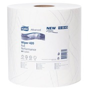Cleaning paper roll Tork W1 Plus blue length 510 m