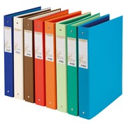 Binder Forever 4 rings back 35 mm 8 assorted colours
