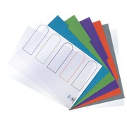 Dividers 5 divisions in cardboard A4 220 g
