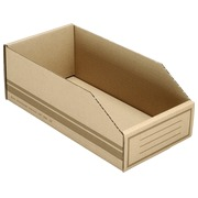 Cardboard storage boxes 300x100x110mm (3,3 liters)