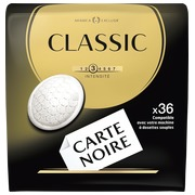 Pack of 36 coffee pads Carte Noire Classic