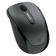 Microsoft Wireless Mobile Mouse 3500 for Business - mouse - 2.4 GHz - lochness gray