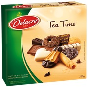 Box 250 g assortment of biscuits Delacre Tea Time