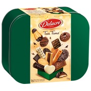 Box 1kg assortment cookies Delacre Tea Time