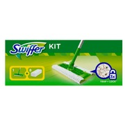 Kit Swiffer broom + 8 floor towels