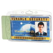 Strong badge Durable without clip 54 x 85 mm for 2 cards - Box of 10
