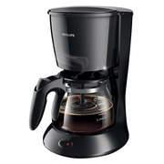 Philips Daily Collection HD7432 - koffiezetapparaat - zwart