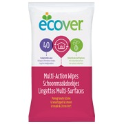 Multi action wipes Ecover