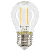 LED lamp filament mini spherical E27 4,4W