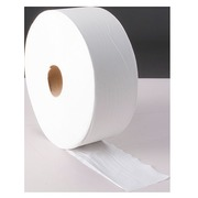 Toilet paper Maxi Jumbo ecological single layer white - box of 6 rolls of 600 m