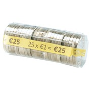Kit 100 cases for coins of 1 euro