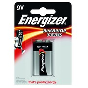 Blister 1 batterij Energizer Power 6LR61