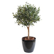 Artificial plant for inside spherical olive tree 90 cm