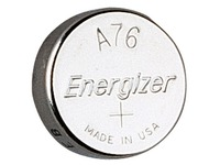 Blister of 2 alkaline batteries Energizer LR44-A76