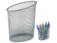 Paper basket + pencil holder perforated
