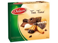 Doos 250 g koekjesassortiment Delacre Tea Time