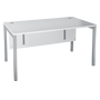 Straight desk Squadra W 140 cm